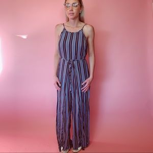 Band of Gypsies Striped Jumpsuit Romper